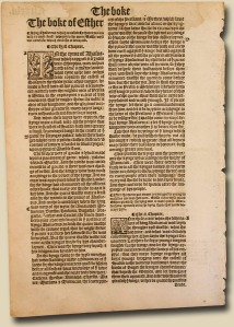 1537 Matthew- William Tyndale Leaf